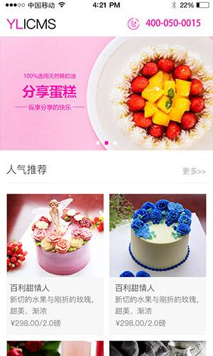 蛋糕/美食/甜品
